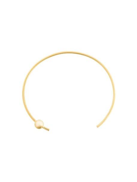 Maria Black women necklace choker necklace gold silver grey metallic jewels