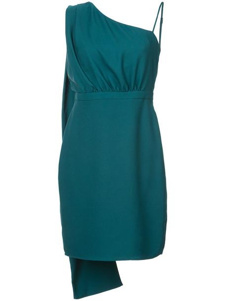 Likely dress women spandex green