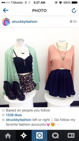 skirt black skater skirt sweater knitted sweater