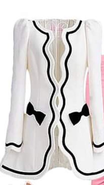 cardigan black white bows black and white cardigan cute cute cardi