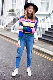 love of cloth,blogger,sweater,skirt,jeans