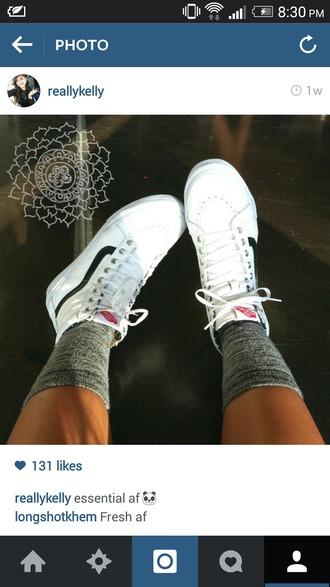 shoes vans sk8-hi