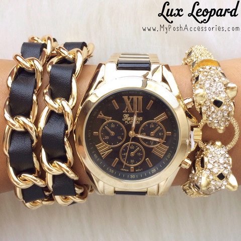 Lux Leopard | Posh Accessories