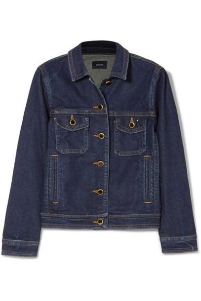 KHAITE jacket denim jacket denim