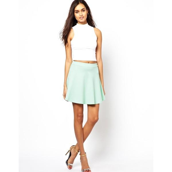 Club L Skater Skirt - Polyvore