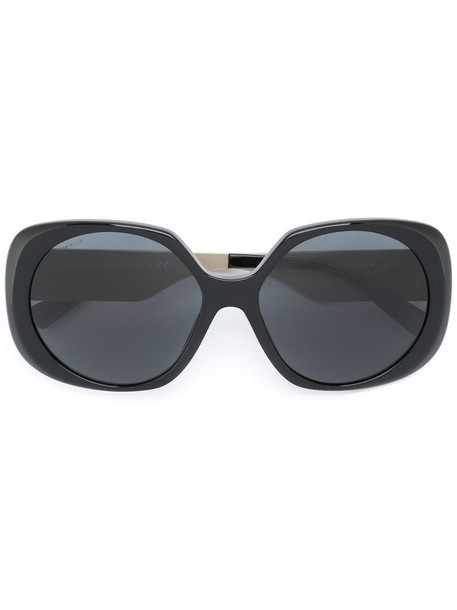 VERSACE rock oversized metal women sunglasses oversized sunglasses black