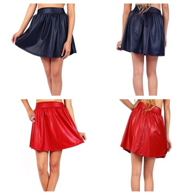 Faux leather skater skirt · briizzoll trendz · online store powered by storenvy