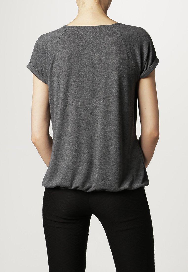 Opus SAMURAI - T-Shirt basic - CARBON - Zalando.de