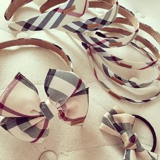 burberry headband hair accessories hair bow hair band