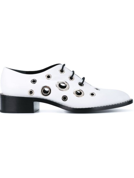 Proenza Schouler metal women shoes leather white
