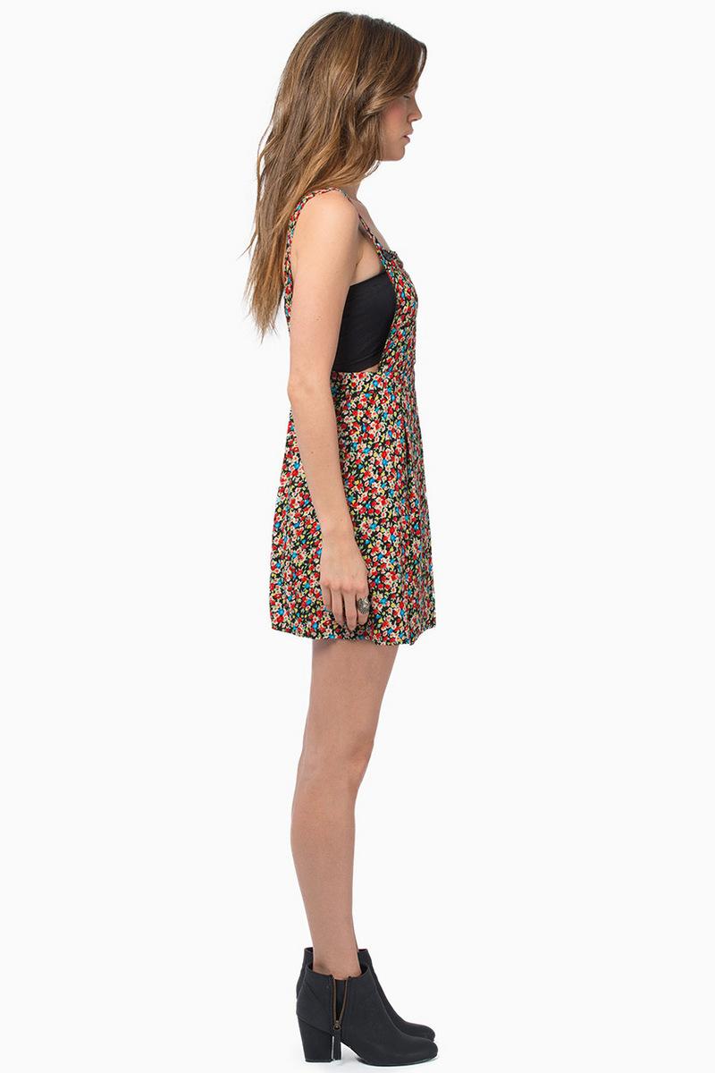 Vanessa Overall Dress $44