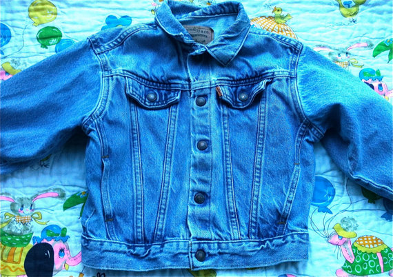 80s levis jean jacket 4t5t by lishyloo on etsy