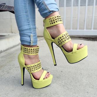 shoes cicihot heels high heels cute heels chic boho sexy girly fashion