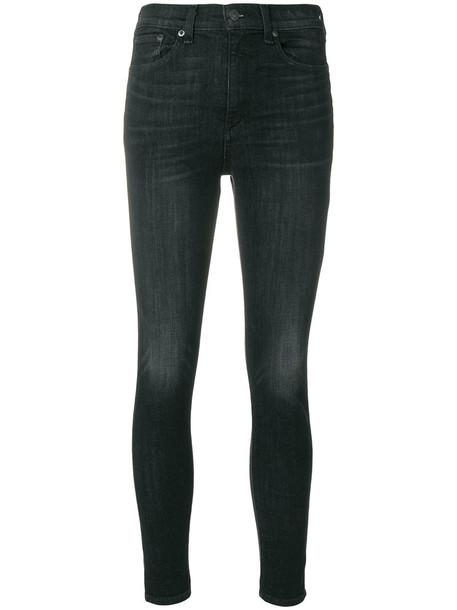 Rag & Bone /Jean jeans skinny jeans high women cotton black