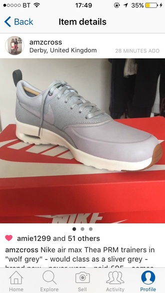 shoes grey nike trainers