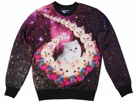 Original SWEET SWEAT COSMIC KITTENS | Fusion® clothing!