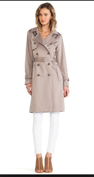 coat trench coat jacket outerwear