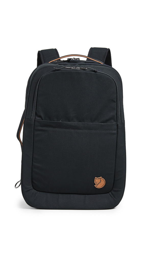 Fjallraven Travel Backpack in black