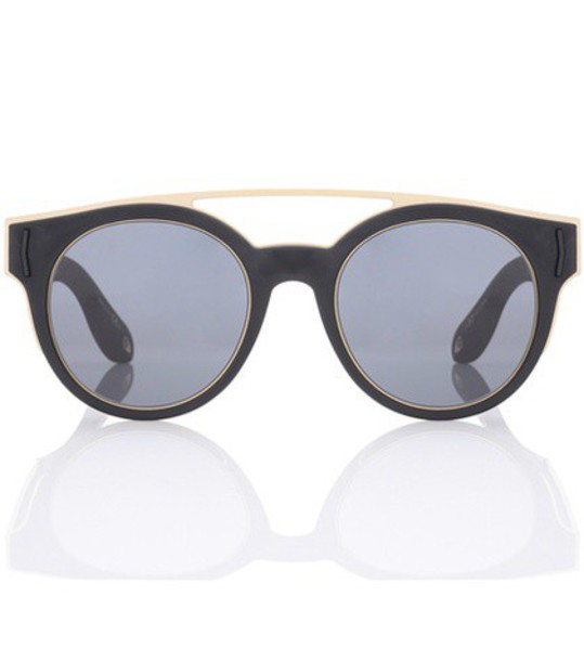Givenchy sunglasses round sunglasses black