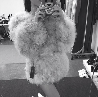 jacket fashion fur coat