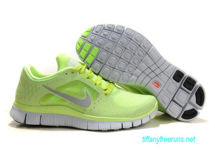 Womens Nike Free Runs 3 Liquid Lime Reflective Silver Pro Platinum Volt Shoes [Tiffany Free Runs 563]-$51.84|Tiffanyfreeruns.net