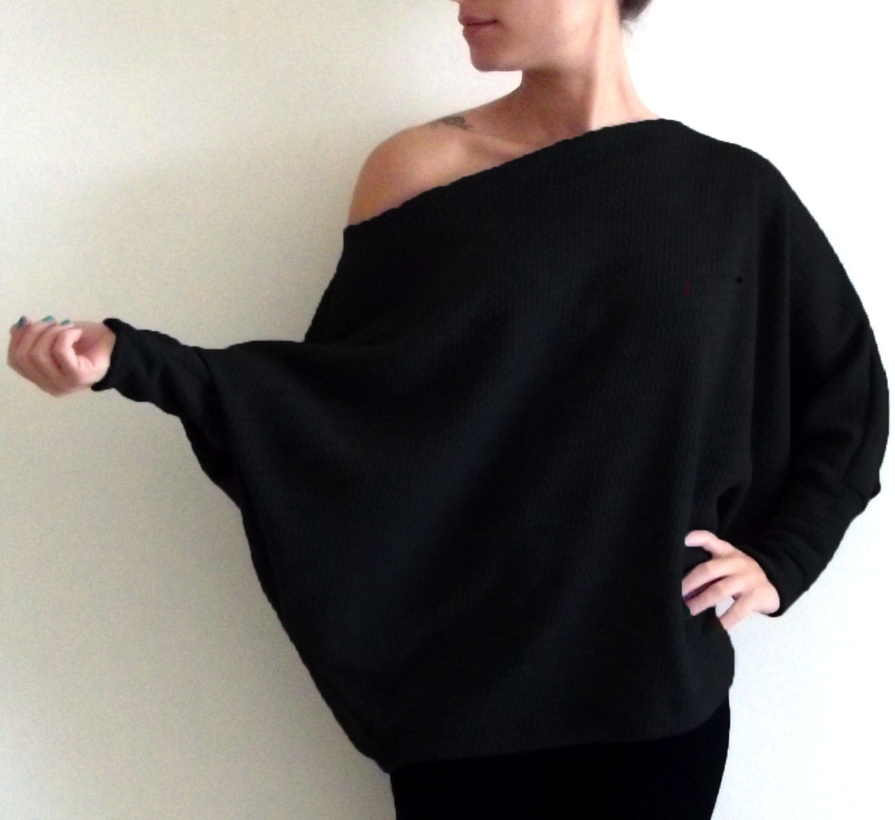 Women's sweater, Plus size sweater, Maternity sweater,Plus size clothing, Oversize sweater, black sweater, winter sweater, maternity clothes