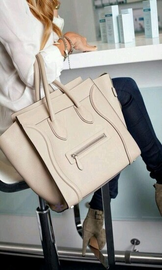 bag kaki bag celineparis nude celine bag handbag nude bag