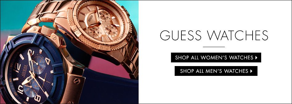 GUESS| Women's Watches: Metal, Leather, Bracelet, Cuff & Swiss Watches