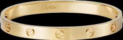 Bracelet LOVE: Bracelet LOVE, or jaune 18 carats. Vendu avec son tournevis.