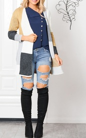 cardigan,girly,girl,girly wishlist,long cardigan,colorblock,fall outfits,fall sweater