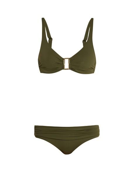 Melissa Odabash bikini khaki swimwear