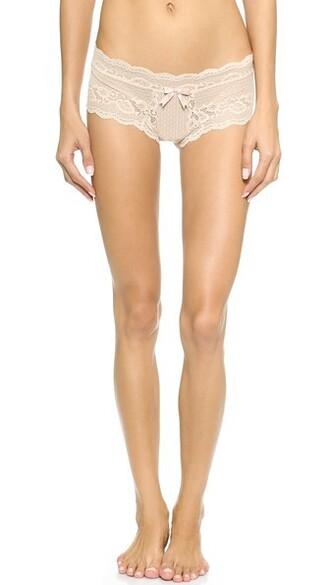 lace nude underwear
