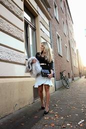 fashion twinstinct,blogger,belt,jacket,fur,clutch,tailoring,office outfits,ruffle