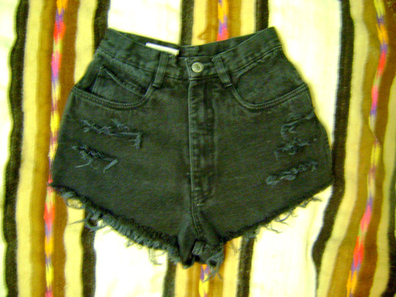 Billblass black studded and distressed high waisted by remcycled
