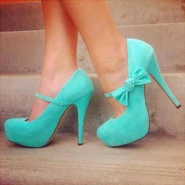 shoes beautiful light blue perfect
