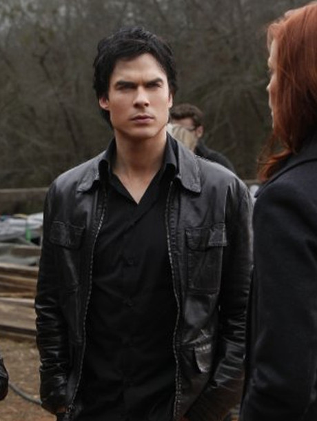 leather jacket the vampire diaries jacket
