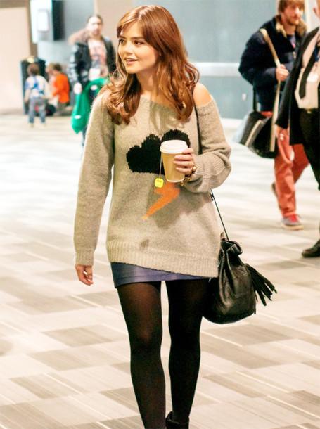 sweater jenna coleman jenna louise coleman