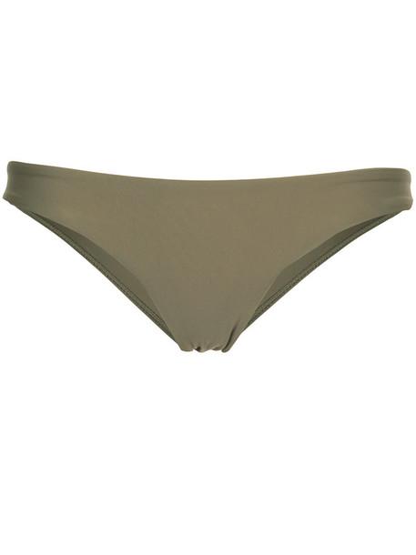 MATTEAU women classic spandex green underwear