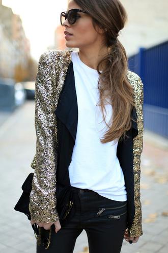 cardigan gold sequins gold glitter sequins gold glitter