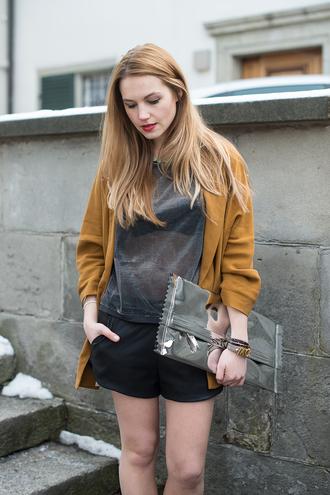 fashion gamble jewels jacket shorts shoes bag