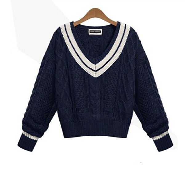 Neck cropped sweater from doublelw on storenvy