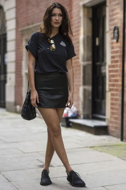 Skirt Bella Hadid Celebrity Style Celebrity Model