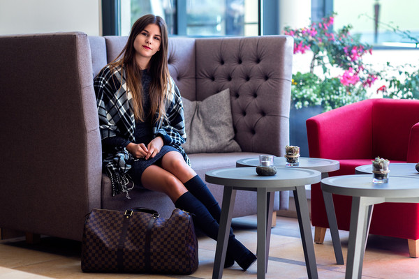 the fashion fraction blogger socks bag