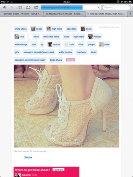 shoes high heels cream high heels lacey cream high heels