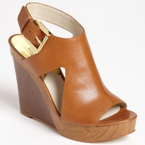 MICHAEL Michael Kors Luggage Josephine Wedge - Sale