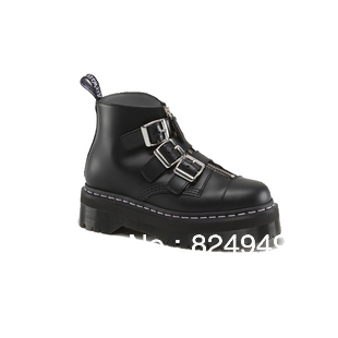 Aliexpress.com : buy free shipping fashion style shoes 2015 popular martens aggy strap 3 buckle strap martin boots black and cherry red available from reliable boots kids shoes suppliers on fashion brand sale