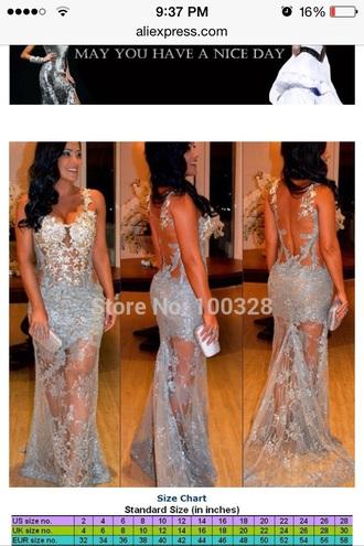 dress silver dress grey/silver dress