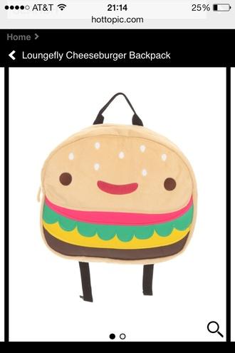 bag cheeseburger cheeseburger hamburger backpack steven universe