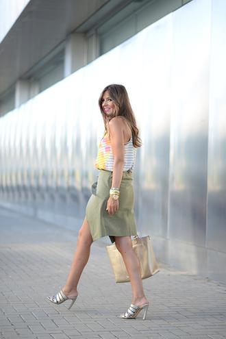 mi aventura con la moda blogger silver shoes mango