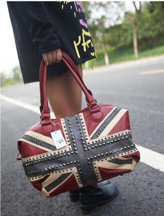 bag flag uk shoulder bag handbag fashion women